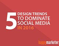 5 Design Trends to Dominate Social Media in 2016