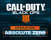 Call of Duty Black Ops 4 Operation Absolute Zero Banner