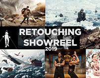 Retouching showreel 2019