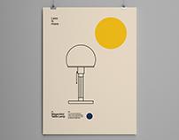 Wagenfeld Table Lamp, Bauhaus Poster Design