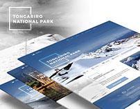 Tongariro National Park / Web Design