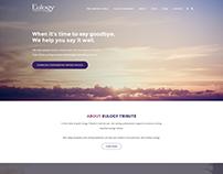 Eulogy Web design