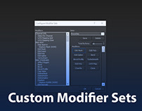 How To Creating Custom Modifier Sets In 3ds Max