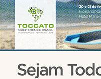Graphic Design for Toccato Tecnologia