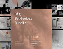 Big September Bundle | Graphics. Slides. Social Media.