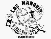 Los Manguis Bcn Bike Polo.