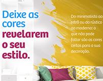 Anúncios - Pepe Tintas