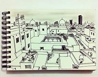 Urban Sketching. Part 1