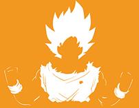 Dragonball Z Motivational Typography