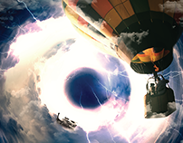 Photo Manipulation - Baloon Trip