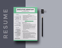 Free Executive Assistant Resume Template