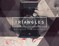 Triangles After Effects Project