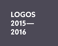 THE LOGOS OF GROTESCA 2015-2016