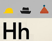 'H for Hats' by Lorna Freytag