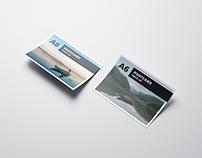 A6 Flyer / Postcard Mockup / 3D Visualization