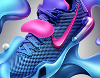 Nike Kobe X — Key Visual Concept