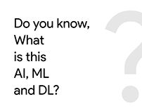 What is AI, ML, DL?