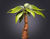 Stylized Palm Tree