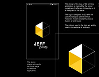 Academic Context –Jeffprints interactive prototype
