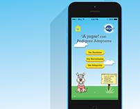 Juego App móvil - Pedigree Adoptame