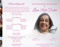 Ms. Luna Bell Foster Obituary