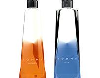 Diseño  de envase y empaque  para  perfume .
