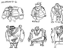 Monster Biker Gang: Character design
