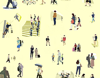People are crowding together (May. 2017) 7484/2017E