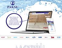 PAKSU RESPONSIVE WEB SİTESİ