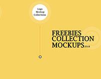 Freebies Logo Mockup Collection