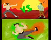 """Animación 2D // Color Script """"Un juego llamado vida"""""""