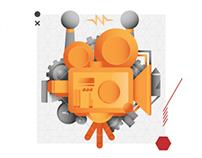 Festival Filmares Digital Illustrations