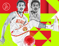 Atlanta Hawks / Trae Young graphic
