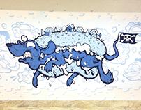 Hot Blue Dog