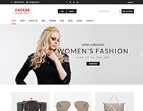 Zackas - Responsive Shopify Theme