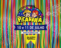 Comercial Festa Piçarraiá 2015