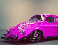 VW Beetle 1969 Mermac's Girls Edition