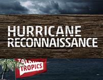 Hurricane Reconnaissance Information Graphics