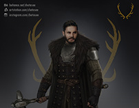 Game of Thrones costume design: Robert (fanmade)