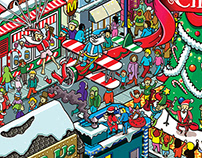 Where is Santa? for The Washington Post