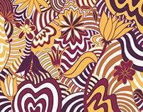 Floral nosense pattern