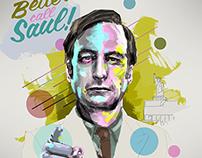 Saul Goodman portrait