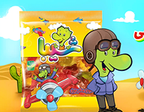 SHIBA Airplane jelly gum TVC