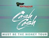 Commissioned Cash Cash Tour Admat