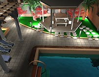 Design of private villa