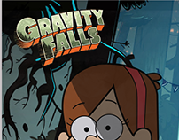 Gravity Falls - Vector illustration