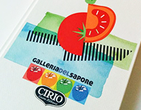 Food Illustrations for Cirio