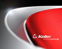 Keller Motors Logo Design + 3D Model in Rhino + Art.