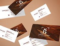 Branding | Simon Brien Ébéniste