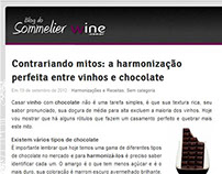 Post: vinhos e chocolate